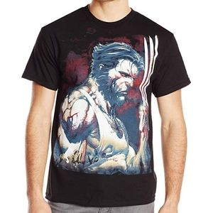 Marvel | Wolverine Men's T-shirt | Black | XXL